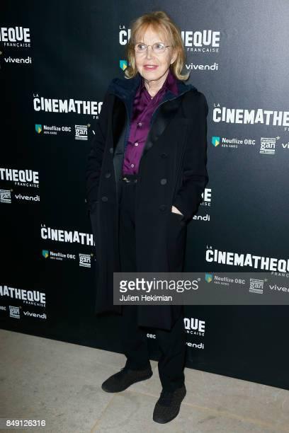 Bulle Ogier attends 'Happy End' Paris Premiere at la cinematheque on September 18 2017 in Paris France