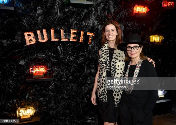 Bulleit Frontier Works unites modern curators celebrating Rebecca Wilson Saatchi Art Chief Curator and NEON In A Bottle atist Lisa Schulte at Saatchi...