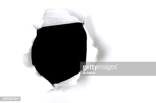 ブレットの穴