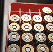 Bullets, elevated view