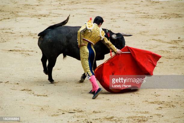 Bullfight at Plaza de Toros Monumental de las Ventas.