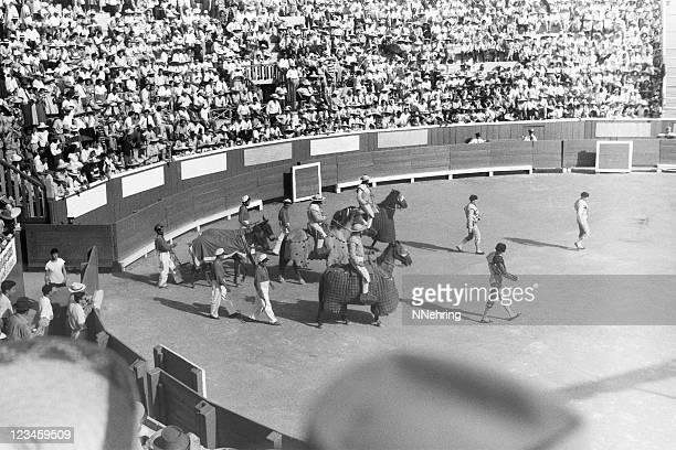 bullfight pascillo 1949, retro