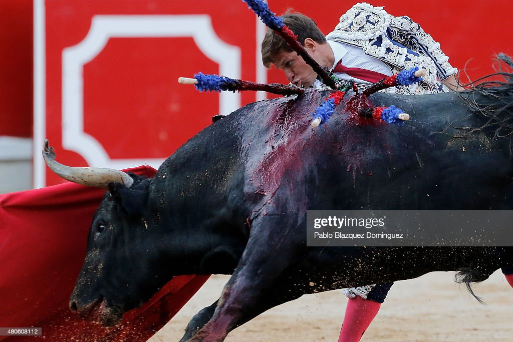 San Fermin Running of the Bulls 2015 - Day 8