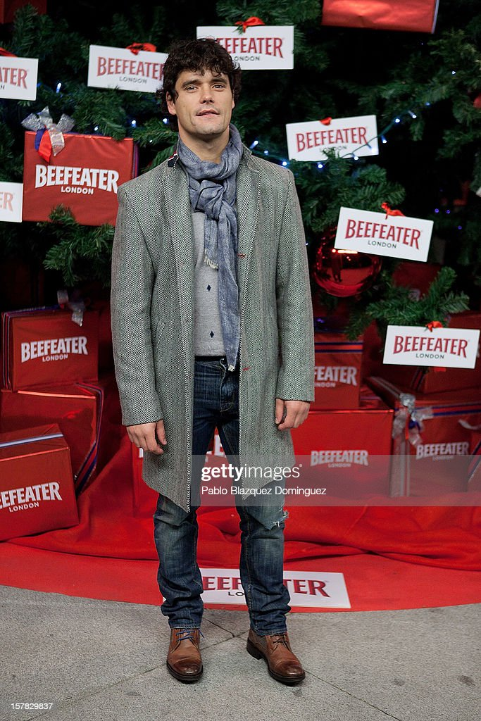 Bullfighter Miguel Abellan attends Beefeater London Market at Cibeles Palace on December 6, 2012 in Madrid, Spain.
