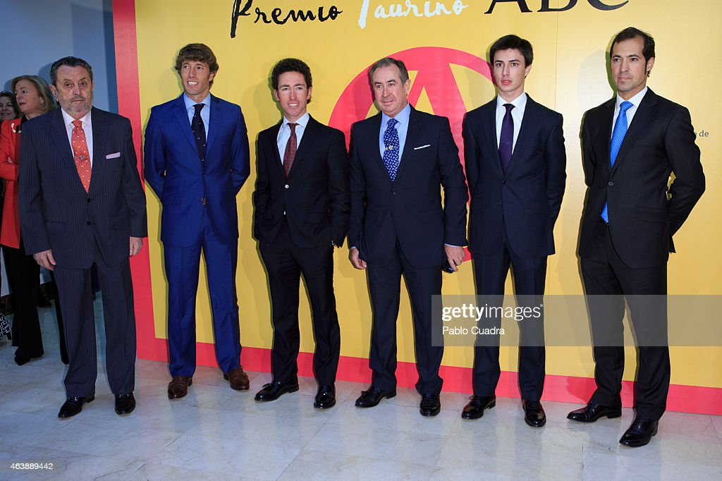 King Juan Carlos Arrives at 'ABC Bullfight Awards' In Madrid