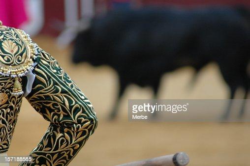 bullfighter's silhouette