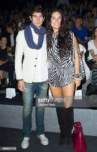 Bullfigther Sebastian Castella is seen attending MercedesBenz Fashion Week Madrid Spring/Summer 2015/16 at Ifema on September 18 2015 in Madrid Spain
