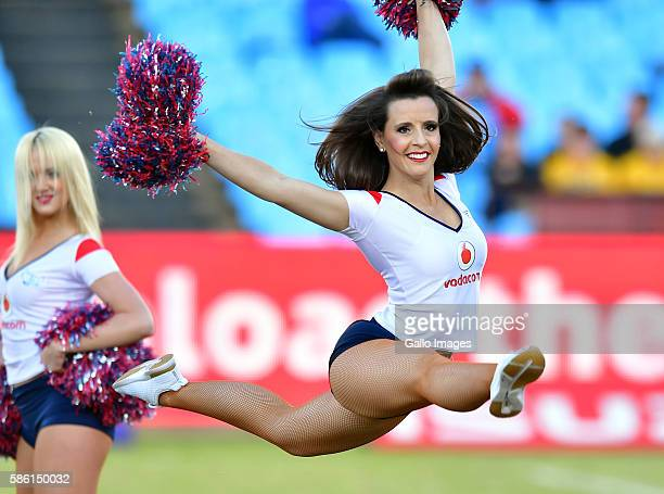 Bulls Babes during the Currie Cup match between Vodacom Blue Bulls and DHL Western Province at Loftus Versveld on August 05 2016 in Pretoria South...