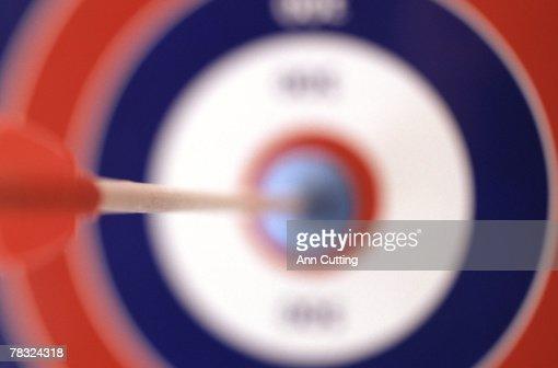 Bull's eye : Stock Photo