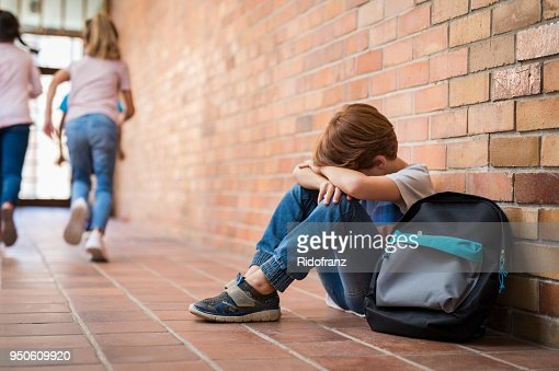 Bullying at school : Foto stock