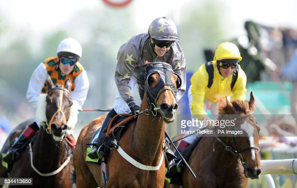 Bulwark and Jim Crowley wins the Chester Cup during the totesportcom Chester Cup Day meeting at Chester Racecourse