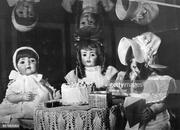 Bumar Museum exhibit L Character Baby 1920 Kestner doll 18051925 Heuback Koppelsdorf doll 1920 Credit Denver Post