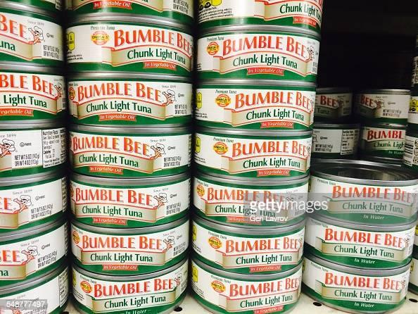 Bumblebees chunk light tuna can foodfood