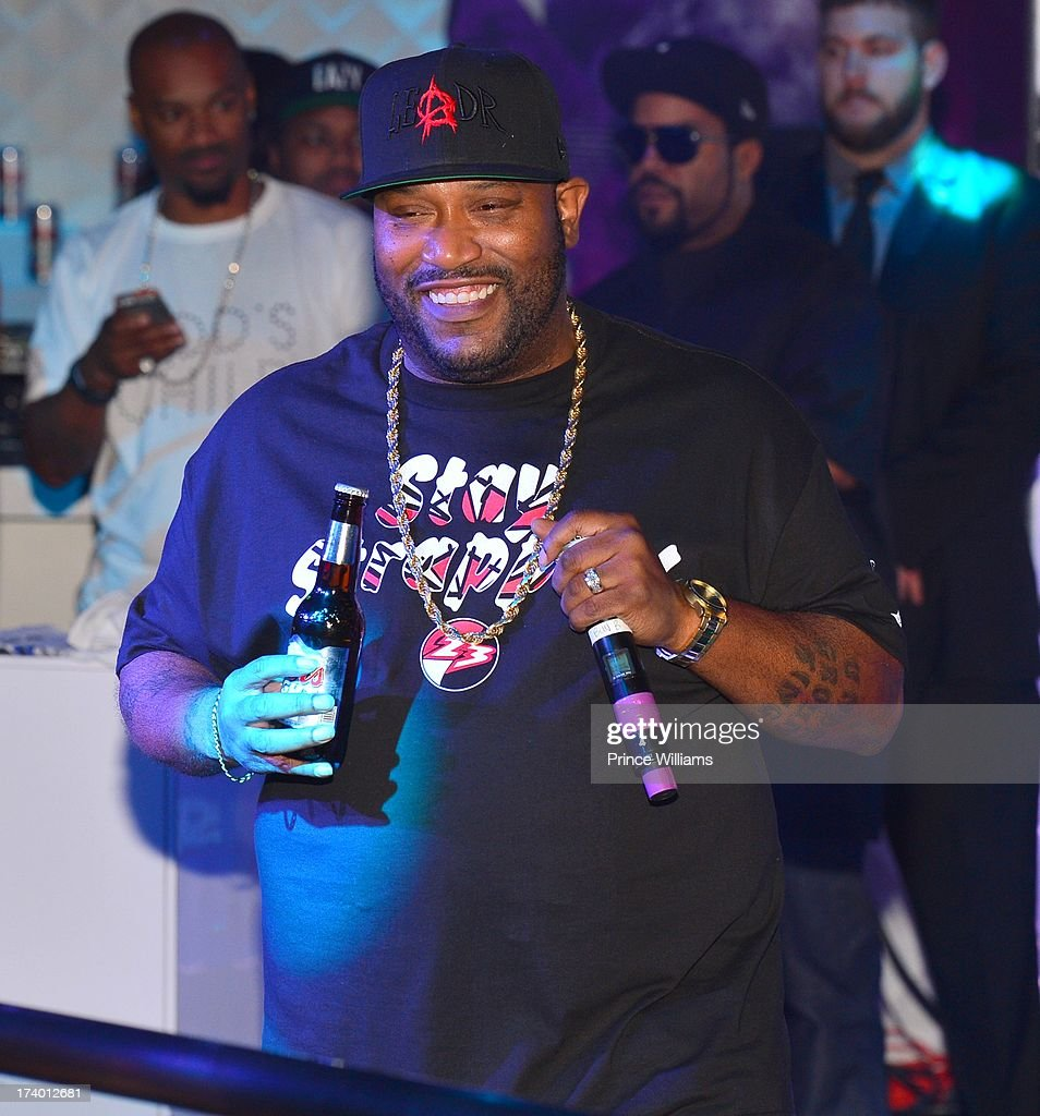 <a gi-track='captionPersonalityLinkClicked' href=/galleries/search?phrase=Bun+B&family=editorial&specificpeople=870664 ng-click='$event.stopPropagation()'>Bun B</a> attends Coors Light 'Search For The Coldest' MC With Special Guest Big Sean at Prive on July 18, 2013 in Atlanta, Georgia.