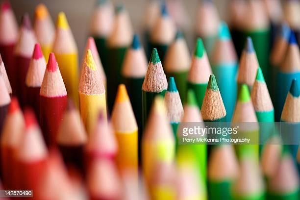 Bunch colors pencils