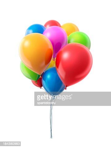Bunch oа balloons