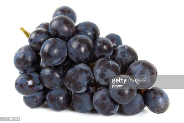 Bunch of Black Grapes laying