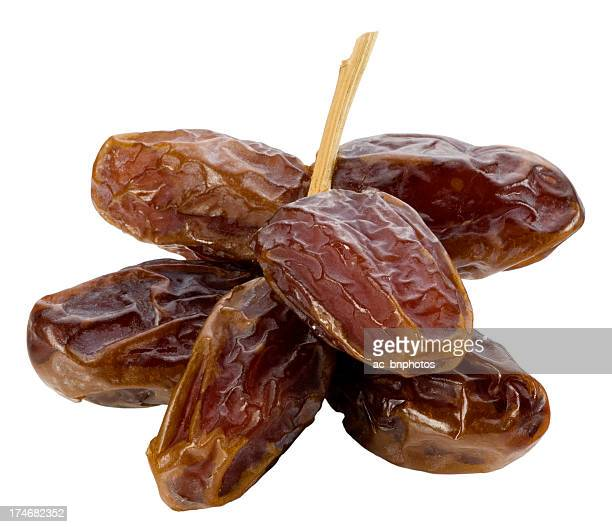 Bunch of dates(clipping path)