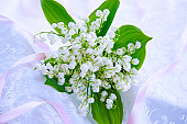 Bunch of Lily-of-the-valleys