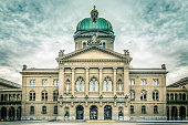 The Swiss Capital Building in Bern
