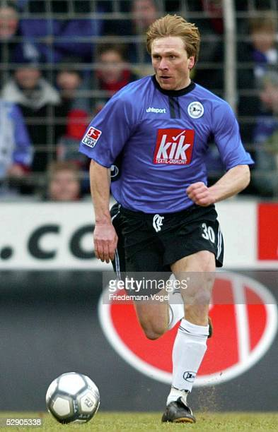 1 Bundesliga 02/03 Bielefeld Arminia Bielefeld 1 FC Kaiserslautern 11 Ansgar BRINKMANN/Bielefeld