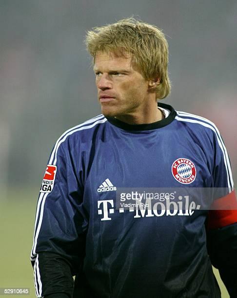 1 Bundesliga 02/03 Cottbus FC Energie Cottbus FC Bayern Muenchen 02 Torwart Oliver KAHN/Bayern