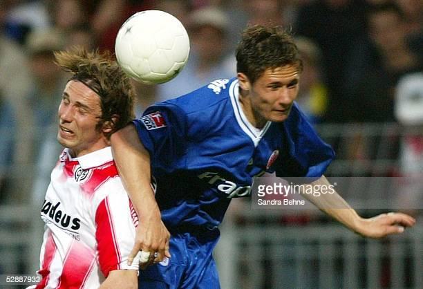 2 Bundesliga 02/03 Mainz FSV Mainz 05 Eintracht Frankfurt Marco ROSE/Mainz Albert STREIT/Frankfurt