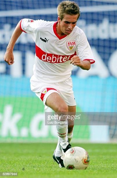 1 Bundesliga 03/04 Rostock FC Hansa Rostock VfB Stuttgart 02 Philipp LAHM/Stuttgart