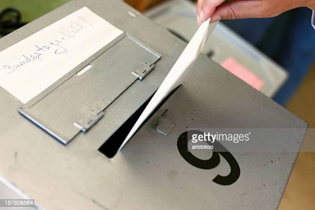 Bundestagswahl Ballot Box Germany