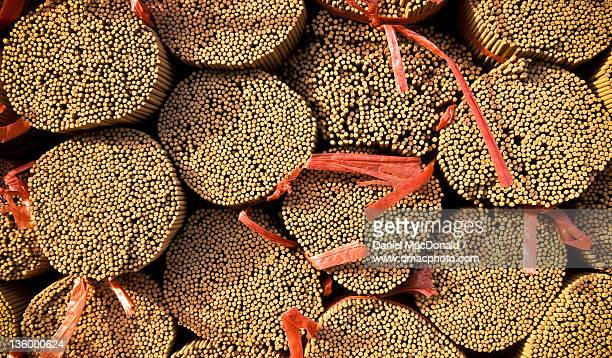 Bundles of sandalwood incense