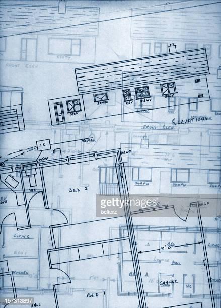 Bungalow blueprint