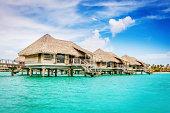Bungalow Resort on Water Bora-Bora French Polynesia