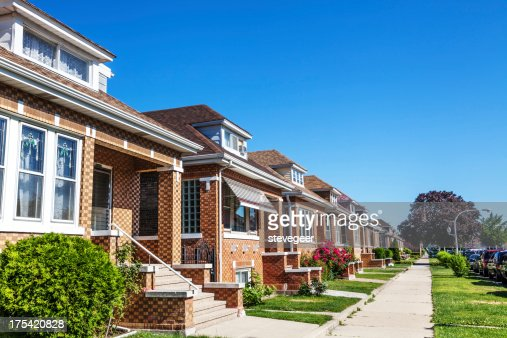Bungalows in Archer Heights, Chicago