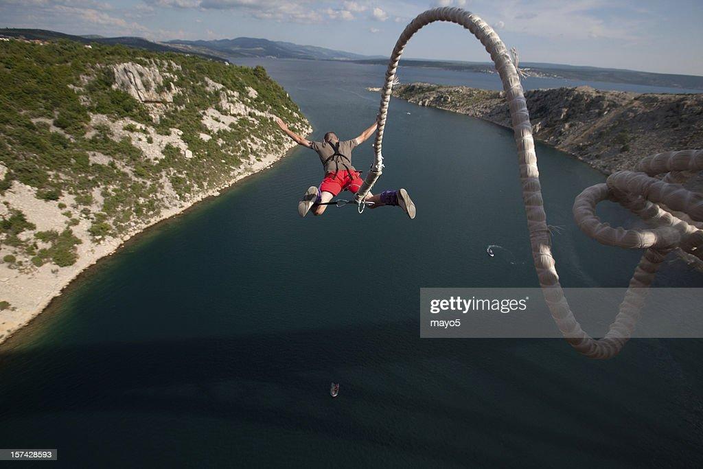 bungee jump : Stock Photo