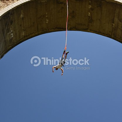 fdfba5d4f962 Bungee Jumping Stock Photo
