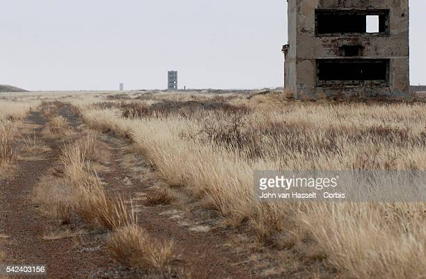Bunkers that housed measuring devices and instruments near Ground Zero at the Semipalatinsk Test Site The USSR detonated 467 nuclear bombs at the...