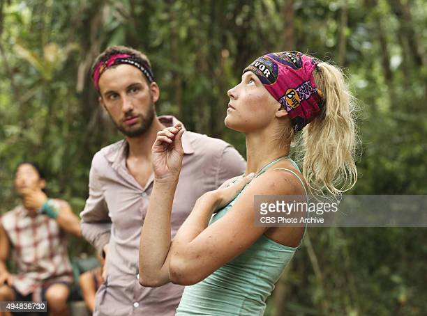 'Bunking With The Devil' Stephen Fishbach and Kelley Wentworth during the sixth episode of SURVIVOR Wednesday Oct 28 The new season in Cambodia...