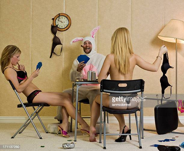 bunny strip-poker