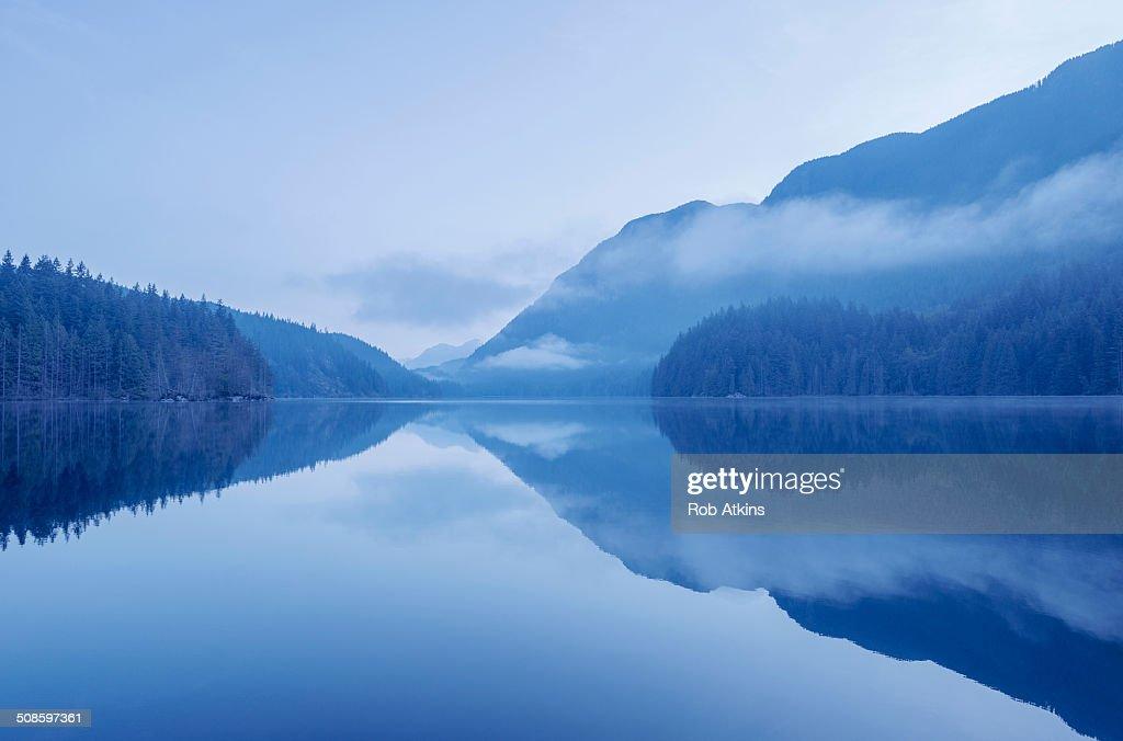 Buntzen Lake : Foto de stock