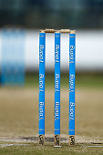 Bupa branded wickets can be seen during day four of the Sheffield Shield match between Western Australia and Tasmania at WACA on November 3 2014 in...