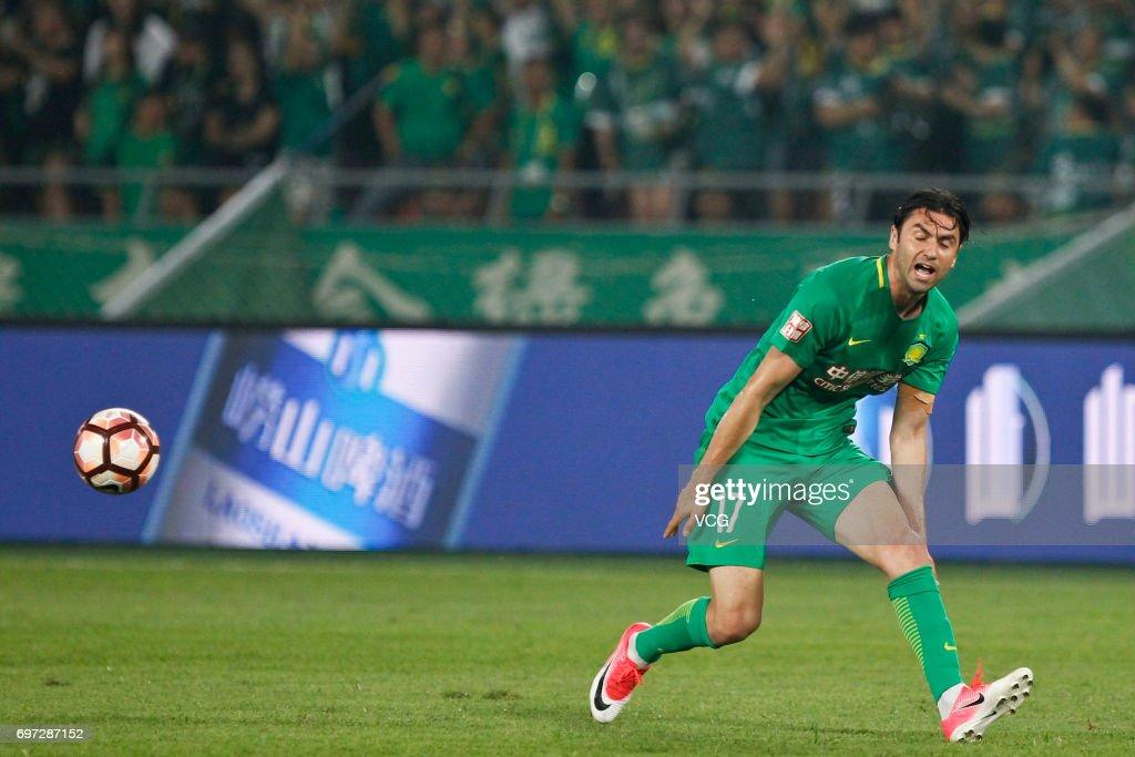 Chinese Super League - Beijing Guoan v Tianjin Teda