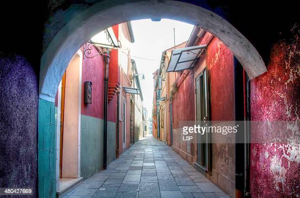 Burano's street