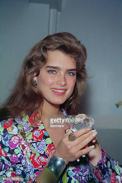 Diamond's are still a girl's best friend even if you are 23yearsold and as beautiful as Brooke Shields according to the actress who is surprised on...