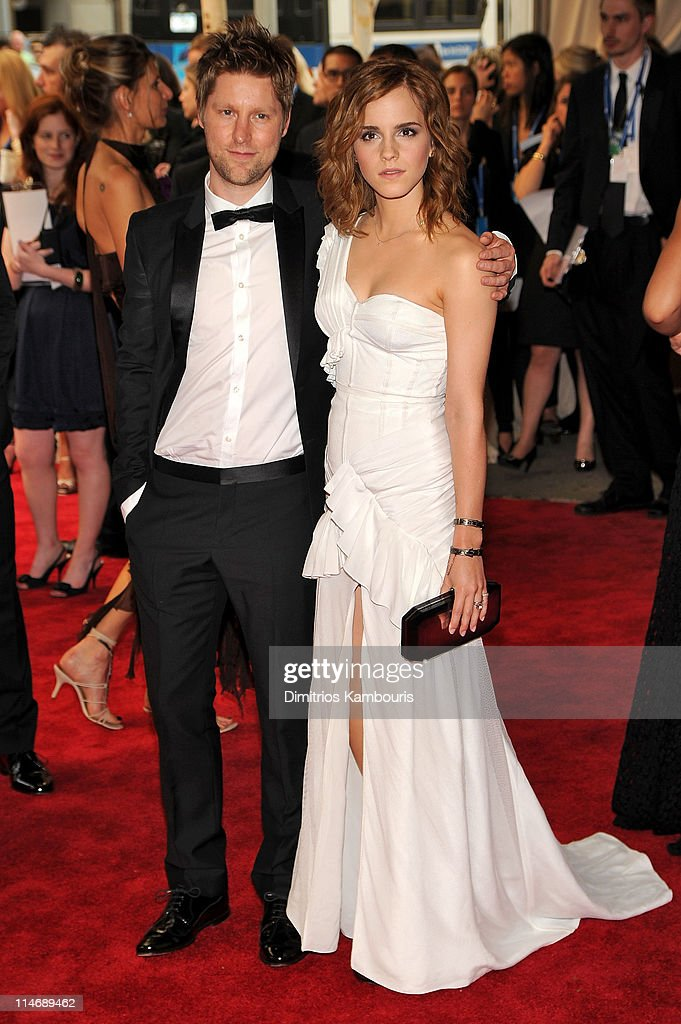 Burberry Chief Creative Officer Christopher Bailey and actress Emma Watson attend the Costume Institute Gala Benefit to celebrate the opening of the 'American Woman: Fashioning a National Identity' exhibition at The Metropolitan Museum of Art on May 3, 2010 in New York City.