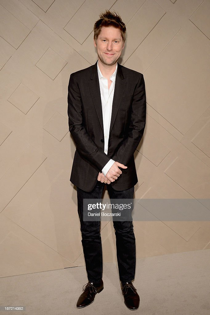 Burberry Chief Creative Officer Christopher Bailey attends the Burberry launch of the Chicago flagship store on November 29 2012 in Chicago Illinois