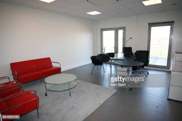Bureau de l'entraineur Inauguration du Nouveau Centre d'entrainement du PSG Saint Germain en Laye Camp des Loges