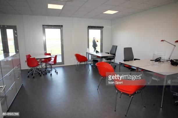 Bureau des adjoints Inauguration du Nouveau Centre d'entrainement du PSG Saint Germain en Laye Camp des Loges
