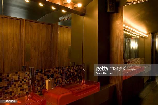 Bureau Nightclub Kingly Street London W1 United Kingdom Architect Satmoko Ball Satmoko Ball Architects Bureau Nightclub Toilet Washbasins With Mirrors