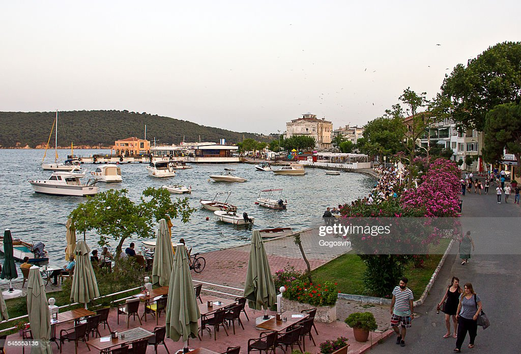 Burgazada Island : Stock Photo