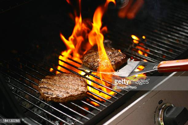 Burger-Barbecue